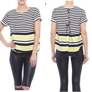 EVERLY Stripe Shirt